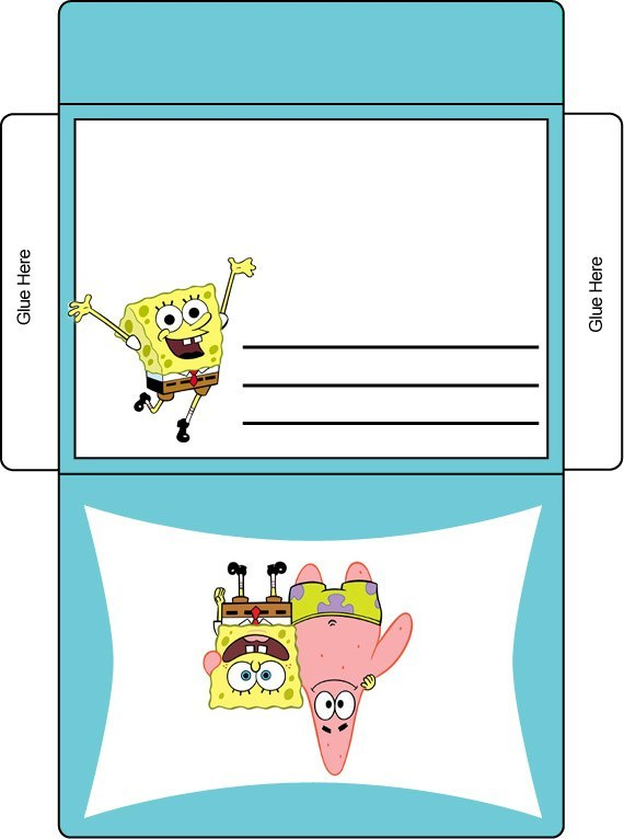 Free Printable Spongebob Envelope 570 x 766 · 63 kB · jpeg