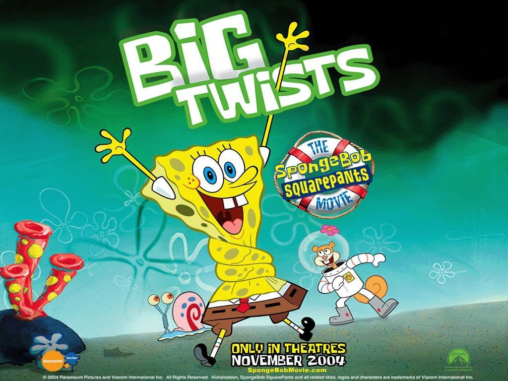 Spongebob squarepants Big Twists free wallpaper download